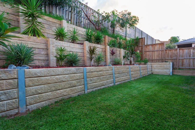 St Louis Retaining Wall